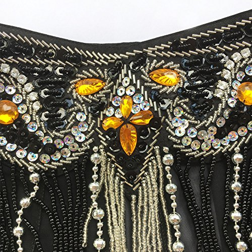 ROYAL SMEELA Belly Dance Costume Set for Women Belly Dance Bra and Belt Chiffon Dancing Skirts Professional Outfit 3pcs