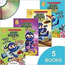 Moby Shinobi - 5 Books with CD - Ninja at the Firehouse ...