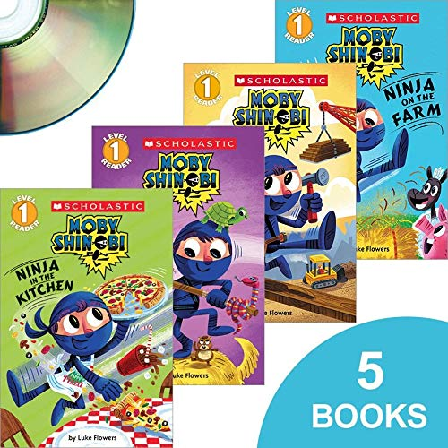 Moby Shinobi - 5 Books with CD - Ninja at the Firehouse ...