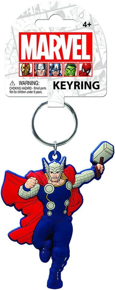 Marvel Thor Soft Touch PVC Keyring Monogram International 68032