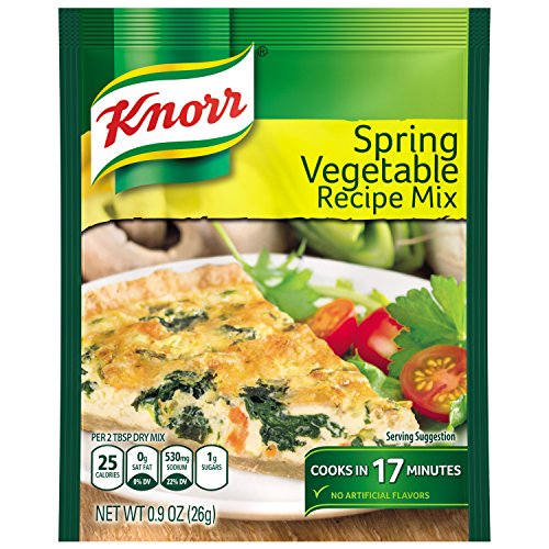 Knorr Recipe Mix Recipe Mix, Spring Vegetable 0.9 oz (Pack of 12)
