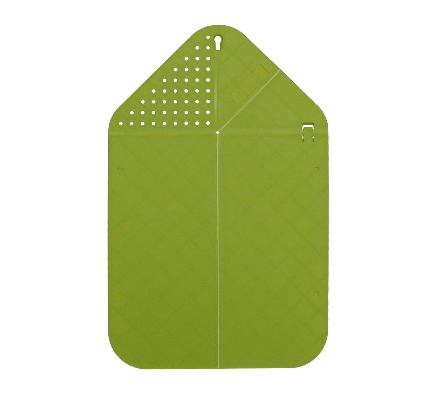 Cutting Board Plus Colander Colander Colander 2 in 1 Chopping Board with Integrated Strainer (Grün) Christmas Gifts for Her by Folding chopping board B00QG24QQU Seiher c9ba95