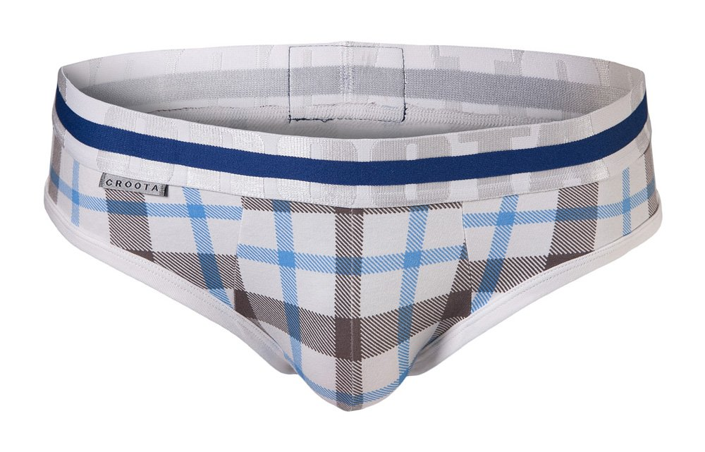 Low-Rise Boxer Brief Croota Mens Underwear Satin Accented Waistband