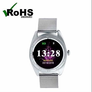 Smart Watch Mujer Reloj Inteligente Reloj Deportivo pantalla táctil,podómetro,monitoreo de sueño,llamada y recordatorio sedentario Nueva Reloj con Android ...