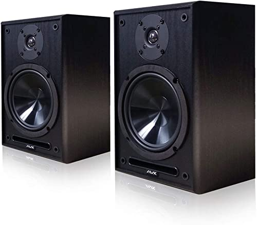 AVX Audio 6.5 Inch Bookshelf Speaker Pair AVX Audio 6.5 Speakers
