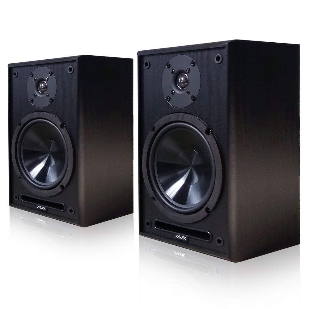 "AVX Audio 6.5 Inch Bookshelf Speaker Pair (AVX Audio 6.5"" Speakers)"