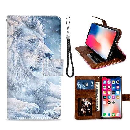 Amazon Com Wallet Case Fit Apple Iphone X Iphone Xs
