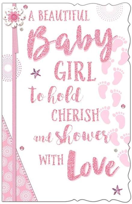 Tarjeta de felicitación para recién nacido, tamaño grande ...