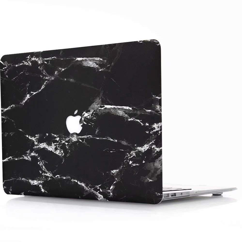 DLHB m/ármol Blanco y Negro AQYLQ Funda Dura MacBook Pro 13 Pulgadas A1278 Unidad de CD Acabado Mate Ultra Delgado Carcasa R/ígida Protector de Pl/ástico Cubierta