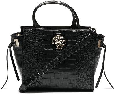 sac a main femme guess noir crocodile