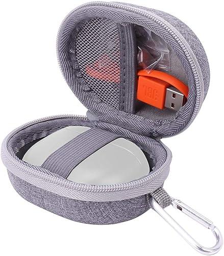 Aenllosi Hard Carrying Case for JBL Tune T120TWS True Wireless in-Ear Headphone Grey