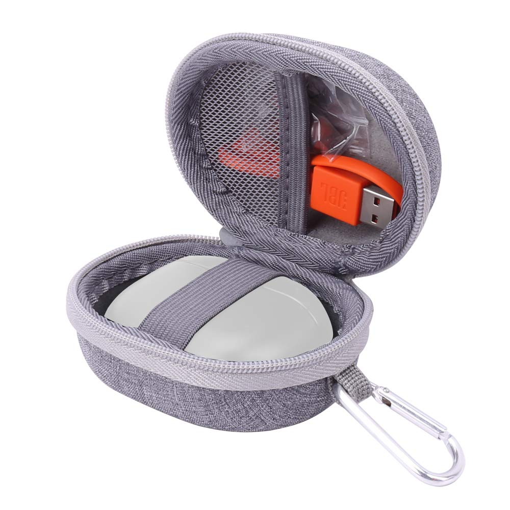 Aenllosi Hard Carrying Case for JBL Tune T120TWS True Wireless in-Ear Headphone (Grey)