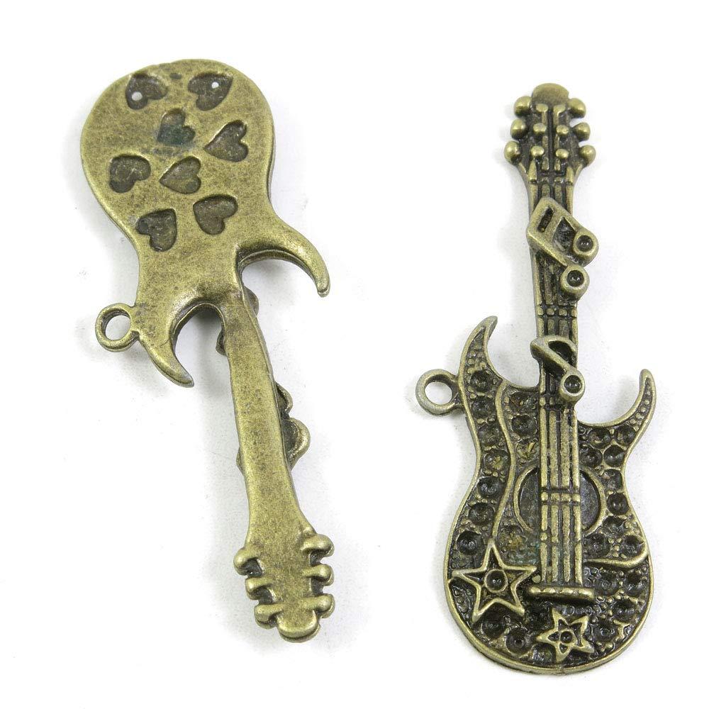 Abalorio de bronce antiguo 261442 para guitarra eléctrica ...
