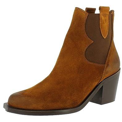 Sixty Seven 75492 marron - Chaussures Bottine Femme