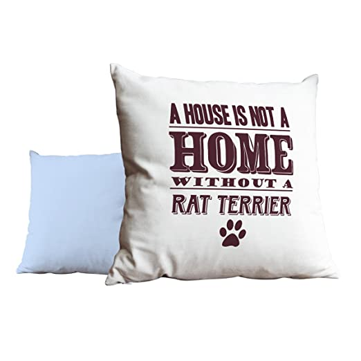 Burdeos una casa no es un hogar sin una rata Terrier azul ...