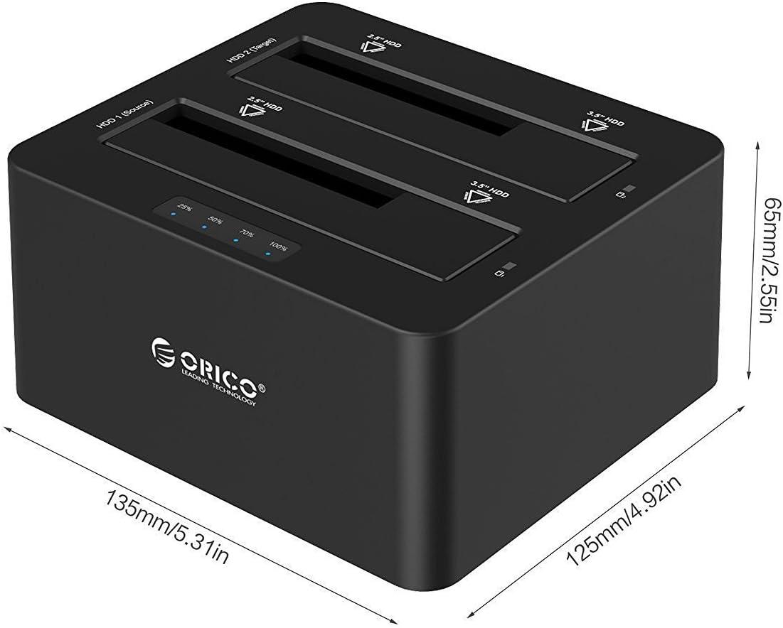 Docking Station ORICO Base de Conexión USB 3.0 de 2 bahias para ...