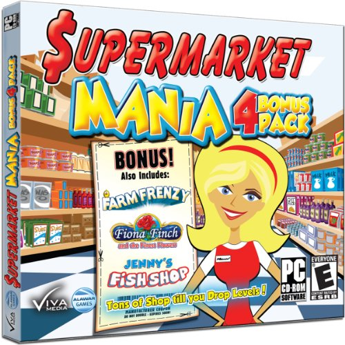 Supermarket Mania Bonus 4 Pack (Market Farmville)