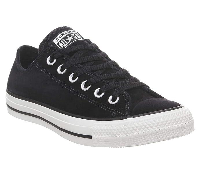 Converse Chucks Chuck Taylor All Star Low Top Sneaker Damen Herren Unisex Schwarz