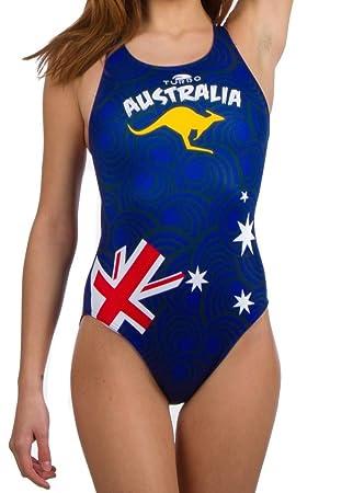 Turbo - Bañador para mujer Australia Kangaroo - Bañador para ...