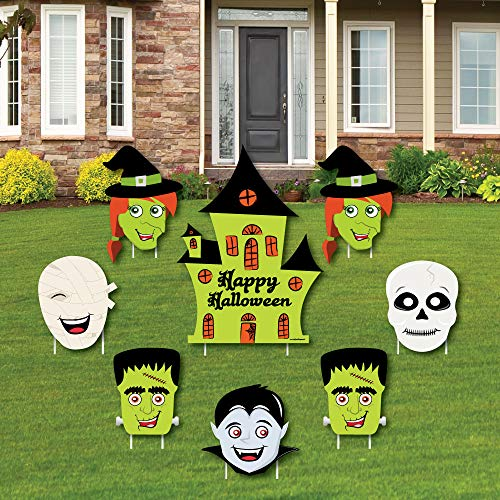 Halloween Monsters - Yard Sign & Outdoor Lawn