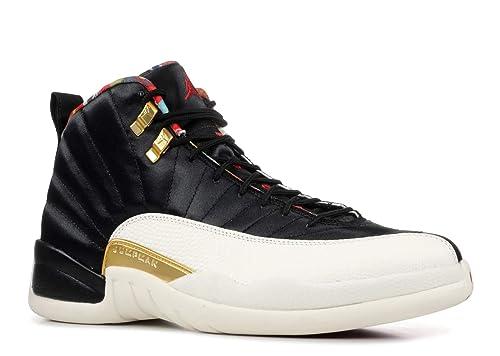 0484633f932996 Nike AIR Jordan 12 Retro CNY  Chinese New Year  - CI2977-006  Amazon ...