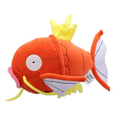 "Official Licensed 8"" Pokemon Magikarp Plush with Tags from TOMY.: Toys & Games"