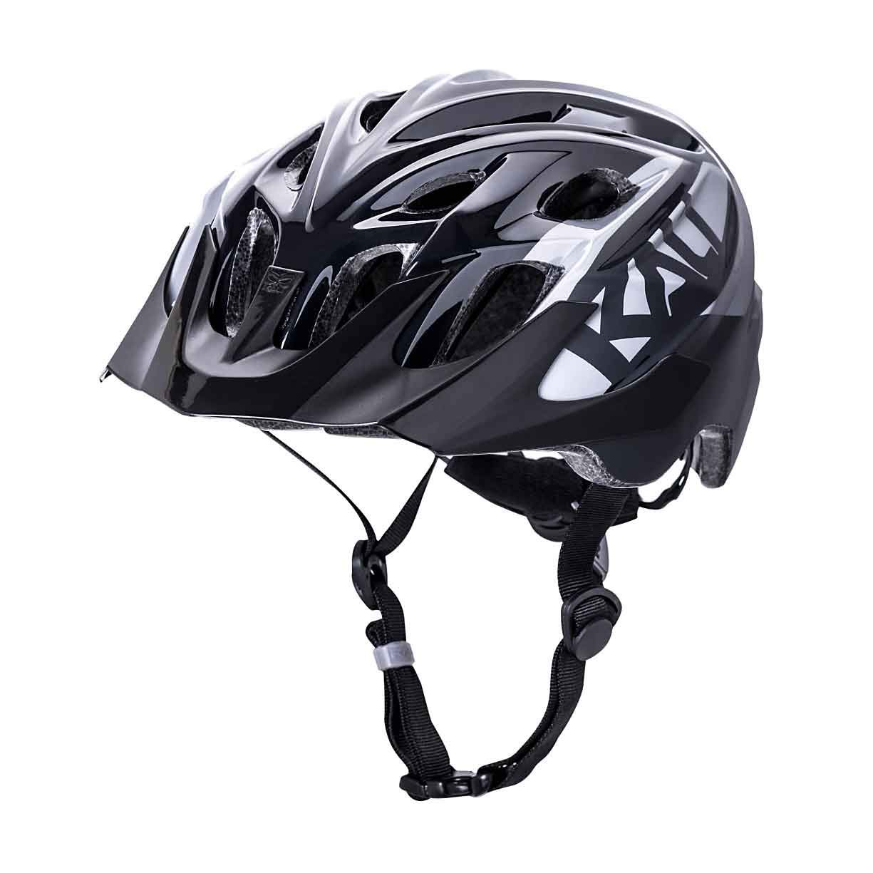 Kali Protectives Chakra Youth Helmet - Kids' Snap Gls Black/Grey, One Size