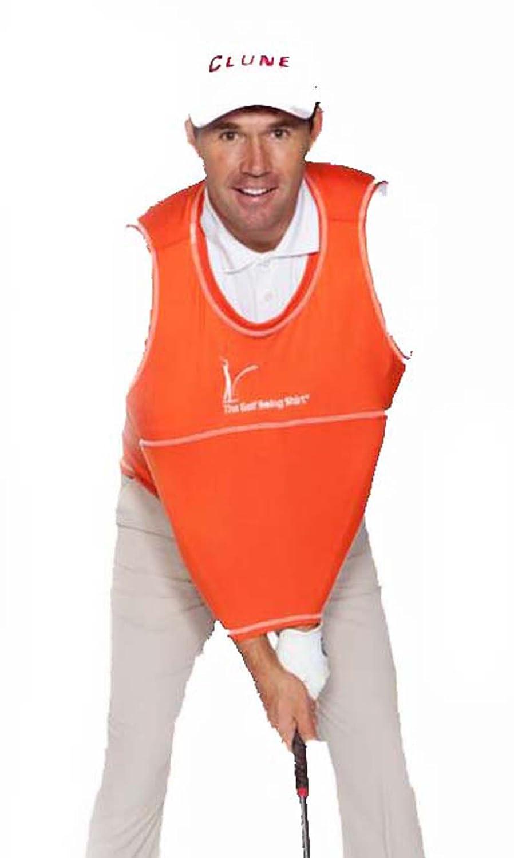 TheゴルフスイングシャツユニセックスゴルフトレーニングAidトレーナー #4 オレンジ B00NOZ13QS