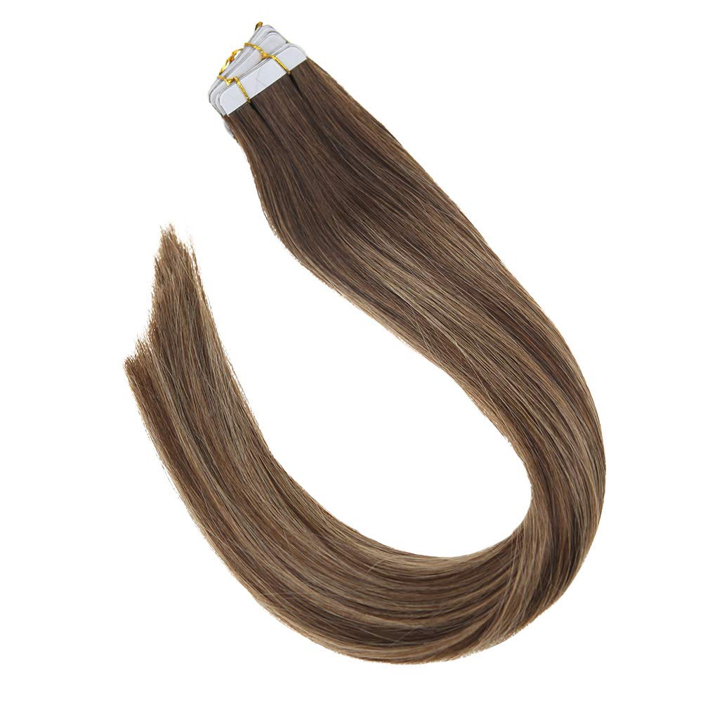 Amazon Vesunny 14inch Tape In Hair Extensions Balayage Ombre
