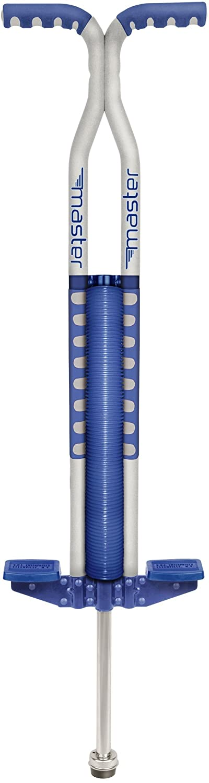 Master Pogostick Silber/blau (hüpfstange)