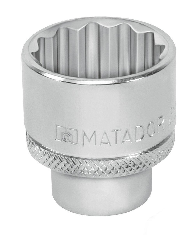 MATADOR 4075 1290 Steckschl/üssel-Einsatz 12-kt 29 mm 1//2 12,5