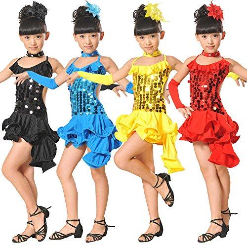 Pageant Bambini Carnevale Cosplay Ragazze Lungo Cerimonia Per Fiore Nozze Arcobaleno Abito Ballerina Battesimo Abiti Rosso1 Zarupeng Ragazze Compleanno Festa Vestito Sera SwBaAxq