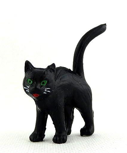 Melody Jane Miniatura Casa de Muñecas Animal Accesorio Halloween Gato Negro de Pie