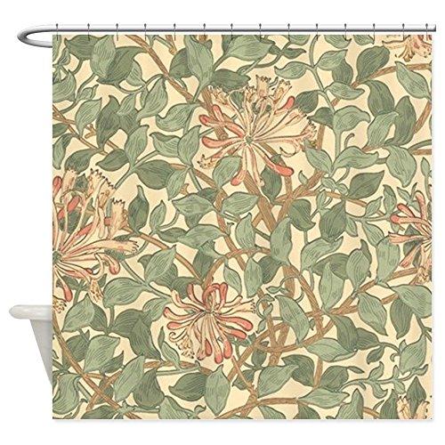 William Morris Iron (CafePress - William Morris Honeysuckle - Decorative Fabric Shower Curtain)