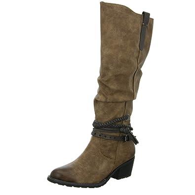 34ad4b5b5fa5 MARCO TOZZI WOMENS RIDING HIGH BOOTS  Amazon.co.uk  Shoes   Bags