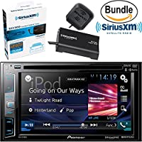 Pioneer AVH-X391BHS DVD Receiver with 6.2 Clear Type Resistive Display, Dual Backup Camera Ready & SiriusXM SXV300V1 Tuner and Antenna (SiriusXM Value Bundle)
