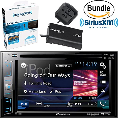 Pioneer AVH-X391BHS DVD Receiver with 6.2