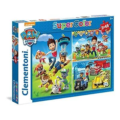 Clementoni Paw Patrol Supercolor Puzzle 3 X 48 Pezzi 25209