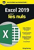 Excel 2019 pour les Nuls, poche