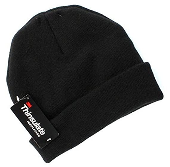 f1ced156df9 Tek Gear Warmtek Knit Lined Watchcap Beanie Hat Adult Unisex One Size Black