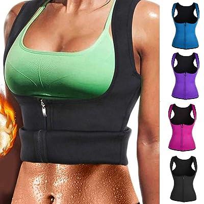 Women Fitness Corset Sport Body Shaper Vest Women Waist Trainer Workout Slimming Neoprene Sport Sweat Vest: Industrial & Scientific [5Bkhe0900758]