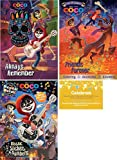 Disney Coco Coloring Experience Bundle, 3 Disney Coco Coloring books (Always Remember, Friends Forever: Coloring - Activities - Stickers and Mosaic Sticker by Numbers: With over 1000 Stickers)