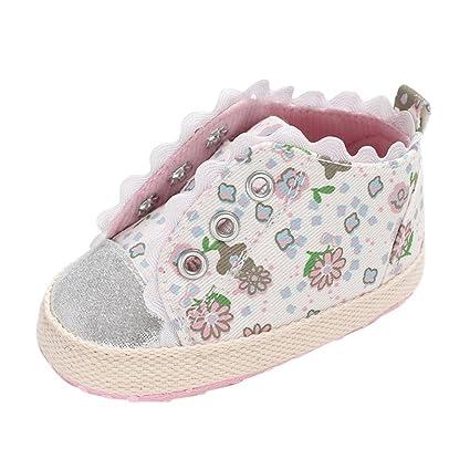 a0aeeb2eb0869 Amazon.com: Baby Sneakers Girls, Amiley New 2018 Broken Flower Soft ...