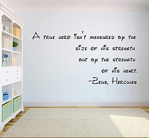 com zeus hercules words wall decor walt disney quotes