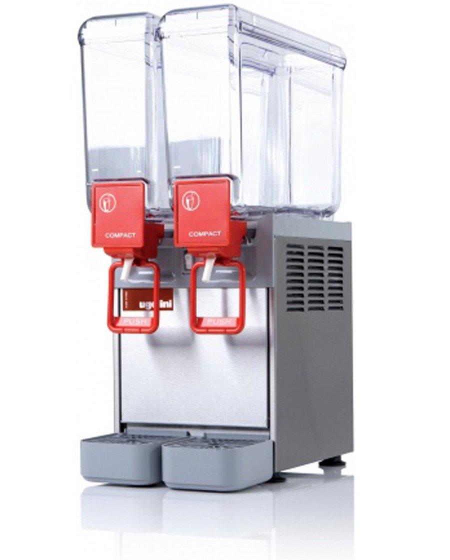 Dispensador de bebidas frías L, 2 x 8 x 250 x H630 P400-UGOLINI: Amazon.es