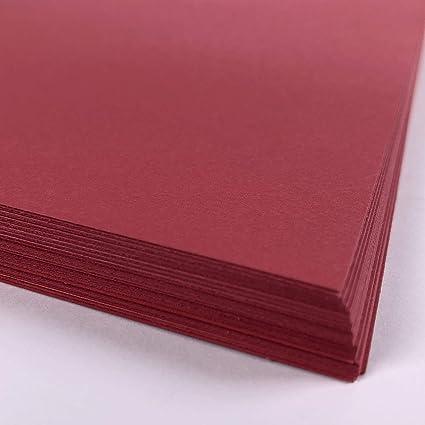 Red Card - Papel para impresora (A5, 50 hojas, 160 g/m² ...