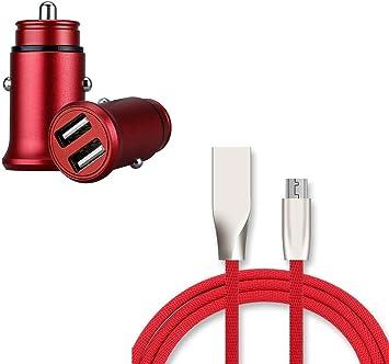 Shot Case Pack Cargador Micro-USB para Huawei P30 Lite (Cable de ...