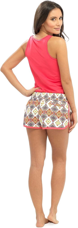 Lora Dora Womens High Waisted Beach Shorts
