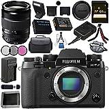 Fujifilm X-T2 Mirrorless Digital Camera (Body Only) 16519247 + Fujifilm XF 18-135mm f/3.5-5.6 R LM OIS WR Lens 1642853 Bundle