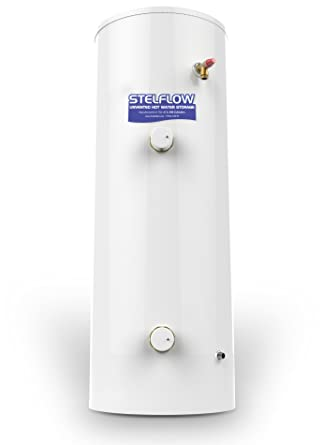 RM 120 Litre Stelflow Direct Unvented Stainless Steel Hot Water ...